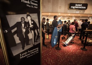 People stand in line to purchase merchandise during the liquidation sale at the closed Riviera hotel-casino, 2901 South Las Vegas Boulevard Wednesday, May 13, 2015. Former employees were able to purchase items early. (Jeff Scheid/Las Vegas Review-Journal) Follow Jeff Scheid on Twitter @jlscheid